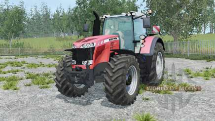 Massey Ferguson 8737 tart orange for Farming Simulator 2015
