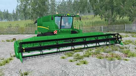 John Deere S690i north texas green for Farming Simulator 2015