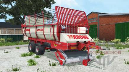 Krone Turbo 3500 alizarin crimson for Farming Simulator 2015