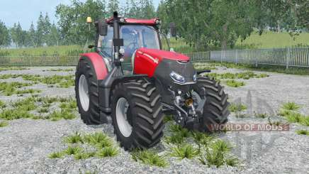 Case IH Optum 300 CVX twin wheels for Farming Simulator 2015