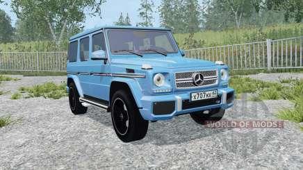 Mercedes-Benz G 65 AMG (W463) process cyan for Farming Simulator 2015