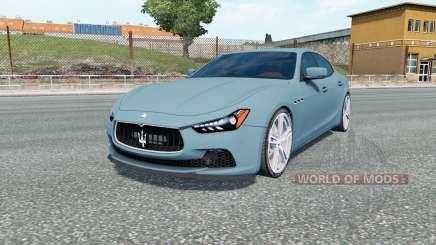Maserati Ghibli S (M157) for Euro Truck Simulator 2