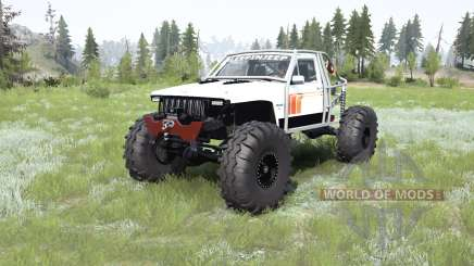 Jeep Comanche (MJ) crawler for MudRunner