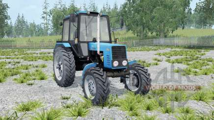 MTZ-82.1 Belarus blue color for Farming Simulator 2015