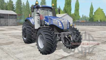 New Holland T8.320-435 Blue Power for Farming Simulator 2017