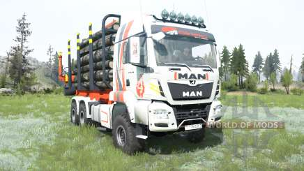 MAN TGS Girteka Logistics for MudRunner