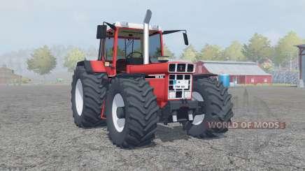 International 1455 XLA tart orange for Farming Simulator 2013
