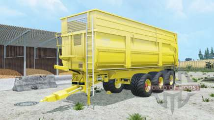 Krampe Big Body 900 S peridot for Farming Simulator 2015