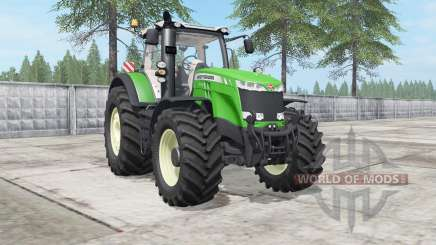Massey Ferguson 8727-8740 large Terra tires for Farming Simulator 2017