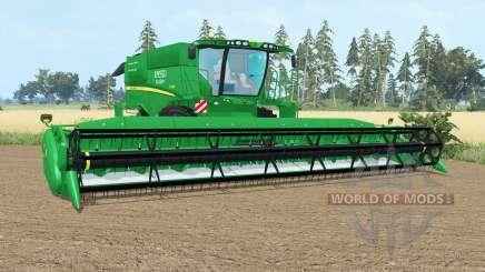 John Deere S690i pantone gᶉeen for Farming Simulator 2015
