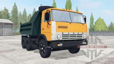 KamAZ-55111 with trailer GKB-8527 for Farming Simulator 2017