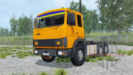 MAZ-6422 orange color for Farming Simulator 2015