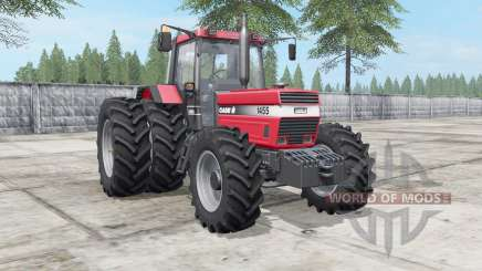 Case IH 1455 XL deep carmine pink for Farming Simulator 2017