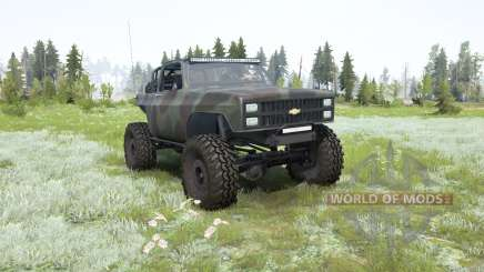 Chevrolet K5 Blazer 1982 crawler for MudRunner