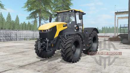 JCB Fastrac 8330 deep lemon for Farming Simulator 2017