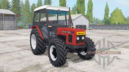 Zetor 7245 front loadᶒr for Farming Simulator 2017