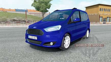 Ford Tourneo Courier 2014 for Euro Truck Simulator 2