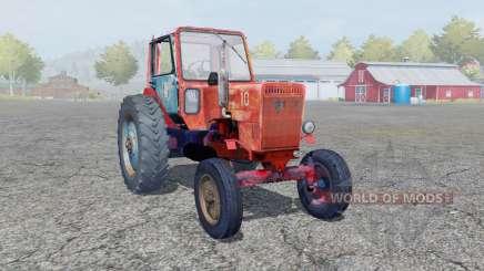 MTZ-80L Belarus bright orange color for Farming Simulator 2013