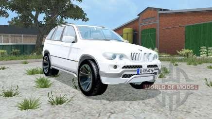 BMW X5 4.8is (E53) 2004 for Farming Simulator 2015