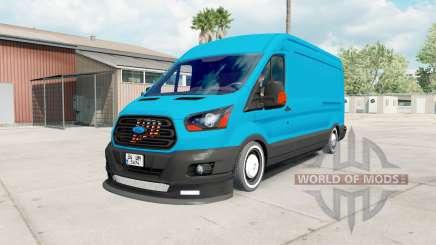 Ford Transit Jumbo Van for American Truck Simulator