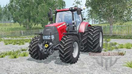 Case IH Puma 165 CVX added wheels for Farming Simulator 2015