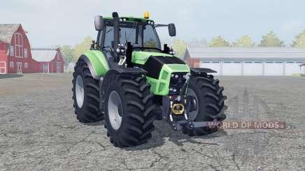 Deutz-Fahr 7250 TTV Agrotron manual ignition for Farming Simulator 2013