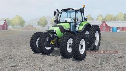 Deutz-Fahr Agrotron TTV 430 caᶉe wheels for Farming Simulator 2013