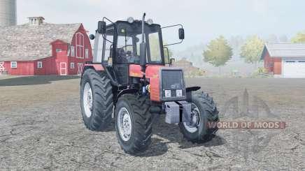 MTZ-Belarus 1025 handbrake for Farming Simulator 2013