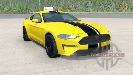 Ford Mustang EcoBoost Performance 2018 for BeamNG Drive
