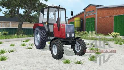 MTZ-Belarus 920 red color for Farming Simulator 2015