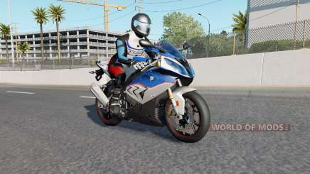 Motorcycle Traffic Pack v3.0.1 for American Truck Simulator