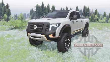 Nissan Titan Warrior concept 2016 for Spin Tires