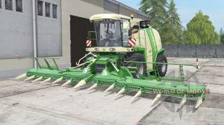 Krone BiG X 1100 bunkeᶉ capacity for Farming Simulator 2017