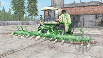 Krone BiG X 1100 chateau green for Farming Simulator 2017