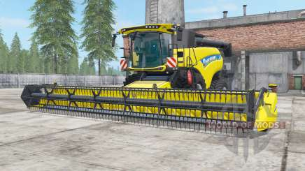 New Holland CR9.90 safety yellow for Farming Simulator 2017