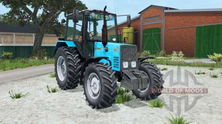 MTZ-Belarus 892.2 interactive control for Farming Simulator 2015