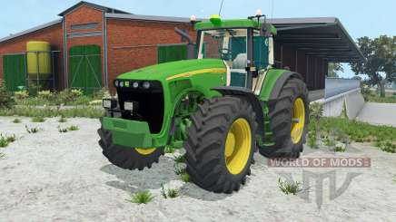 John Deere 8520 double wheels for Farming Simulator 2015