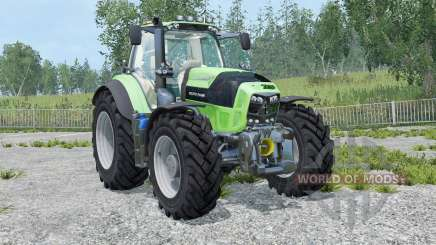 Deutz-Fahr 7210 TTV Agrotron street version for Farming Simulator 2015