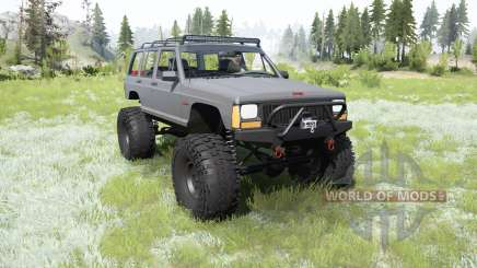 Jeep Cherokee (XJ) 1987 crawler for MudRunner