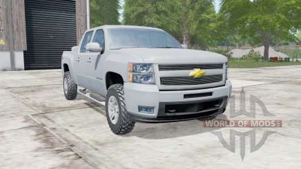 Chevrolet Silverado Z71 Crew Cab (GMT901) for Farming Simulator 2017