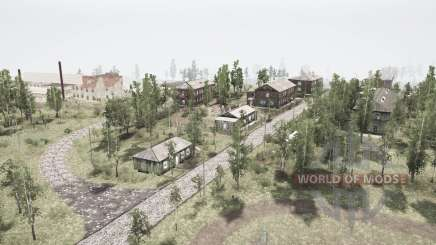 The village and the Ural mountains 2 for MudRunner