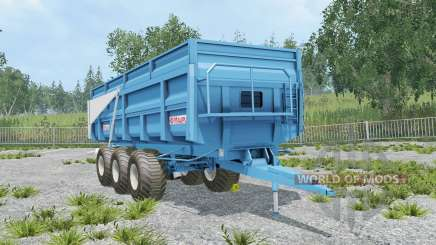 Maupu TDM picton blue for Farming Simulator 2015