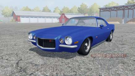 Chevrolet Camaro Z28 1973 open doors for Farming Simulator 2013
