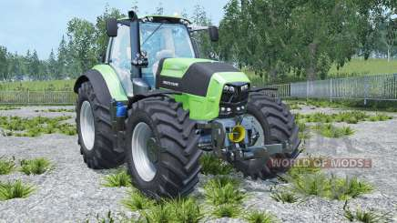 Deutz-Fahr 7250 TTV Agrotron real engine for Farming Simulator 2015