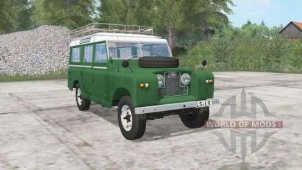 Land Rover 109 Station Wagon 1965 for Farming Simulator 2017