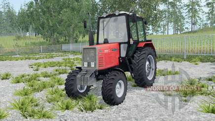 MTZ-892 Belarus light red color for Farming Simulator 2015