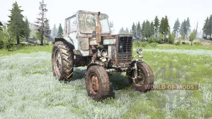 MTZ-80, Belarus for MudRunner