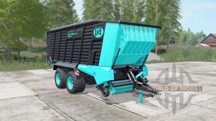 Lely Tigo XR 75 D turquoise blue for Farming Simulator 2017