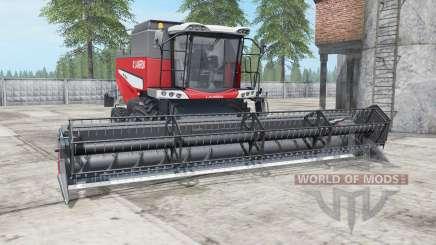 Laverda M300 deep carmine pink for Farming Simulator 2017