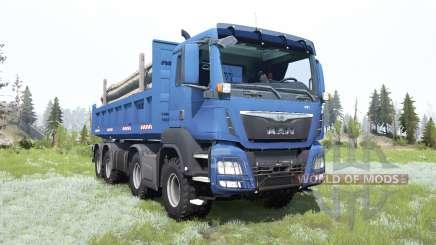 MAN TGS 41.440 8x8 2007 for MudRunner